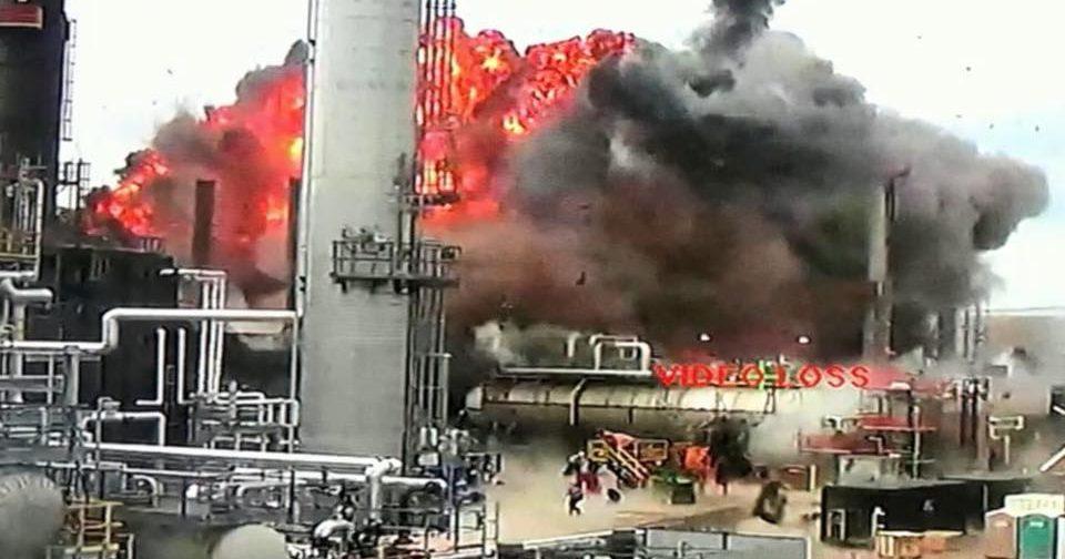 wisconsin refinery explosion