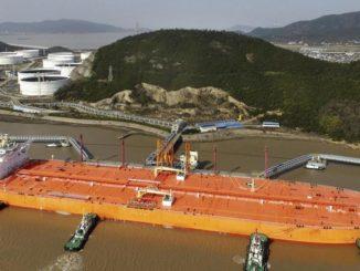 Chinese crude imports