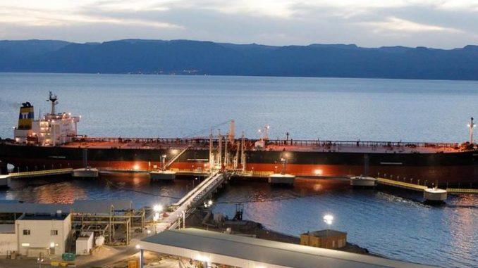 saudi crude shipments