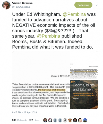 Debunked: Vivian Krause's Tar Sands Campaign conspiracy